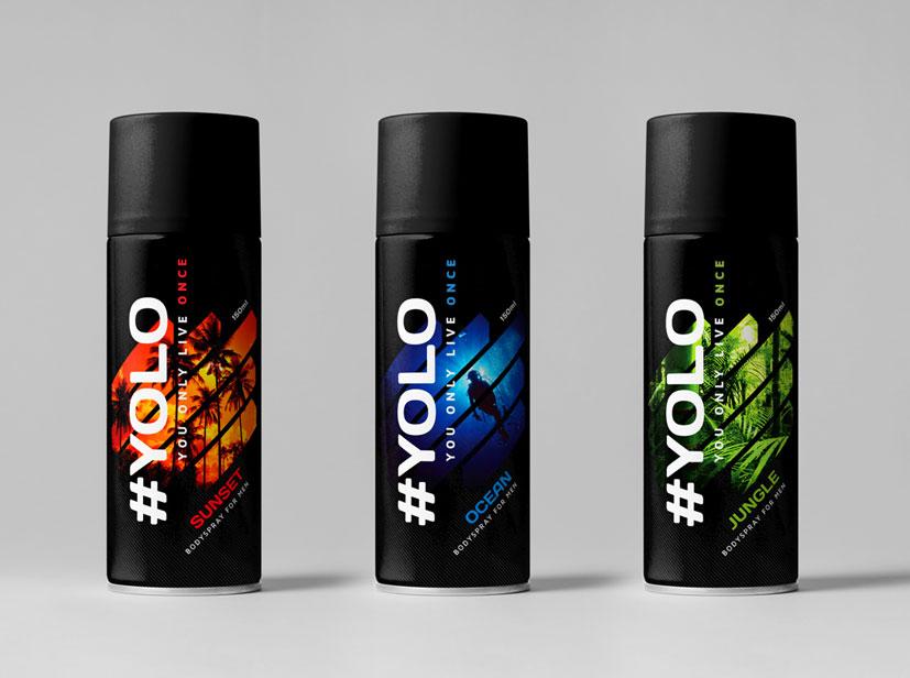 Yolo bodyspray