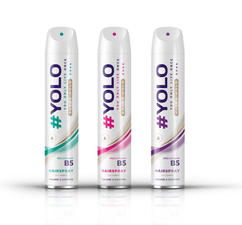 Yolo hairspray