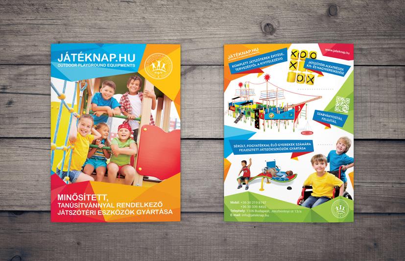JÁTÉKNAP flyers