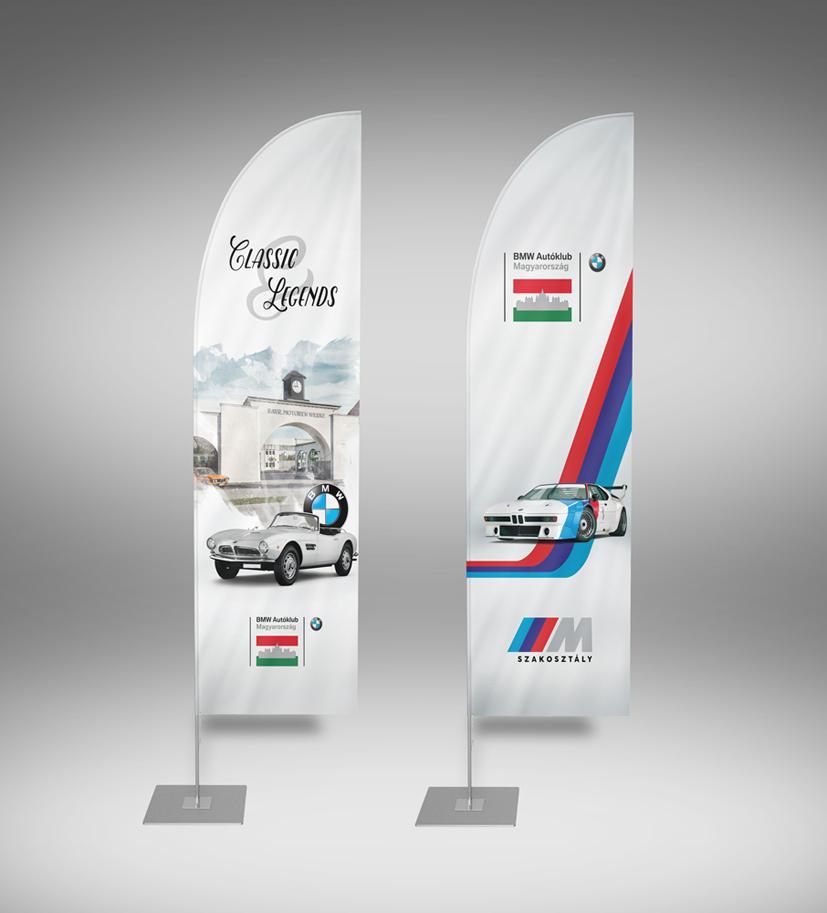 BMW flags/rollups